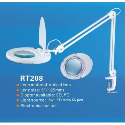 RT208 LED Magnifying Lamp-500x500